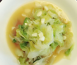 蒜蓉圆生菜的做法