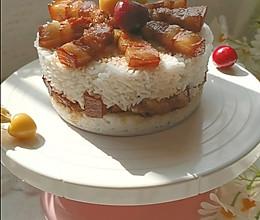 红烧肉蛋糕|干饭人的蛋糕,简单快手一看就会的做法