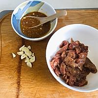 黑椒牛柳炒苦瓜,清火又营养的做法图解1