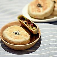 莜面素馅饼#金龙鱼外婆乡小榨菜籽油#的做法图解15
