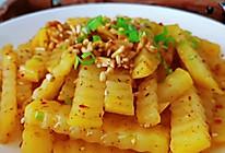 #下饭红烧菜#土豆和鱼腥草神仙搭配 越吃越美味的做法