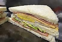 芝士三明治的做法