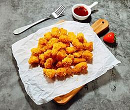 外酥里嫩,低脂又健康的烤箱版鸡米花#憋在家里吃什么#的做法