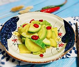 #一道菜表白豆果美食#醋溜西葫芦的做法