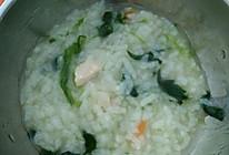 鸡肉香菇菠菜粥的做法