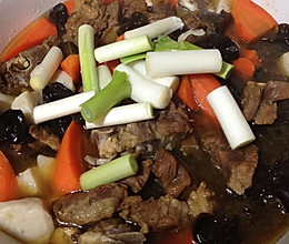 冬日羊肉火锅的做法