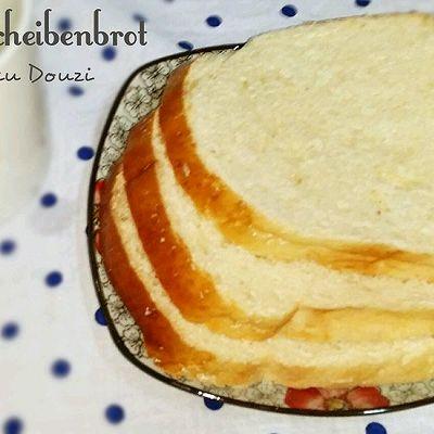 面包机做香软吐司面包~100%成功