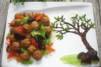 香菇豆腐丸子#金龙鱼外婆香小榨菜籽油  最强家乡菜#