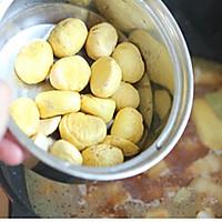 深秋天冷能量菜——栗子红烧肉的做法图解6