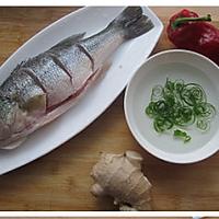 葱油鲈鱼的做法图解1
