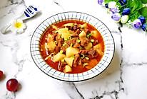 西红柿土豆烧牛肉#肉食者联盟#的做法