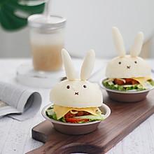 #肉食者联盟# 小兔子鸡腿汉堡