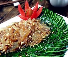 懒人的福音健康瘦身凉拌海蜇皮黄瓜的做法