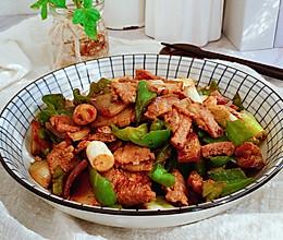 #中秋宴,名厨味#香辣过瘾的青椒炒肉片的做法