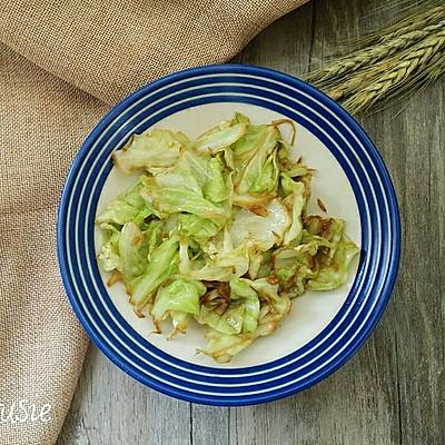 包菜炒虾米