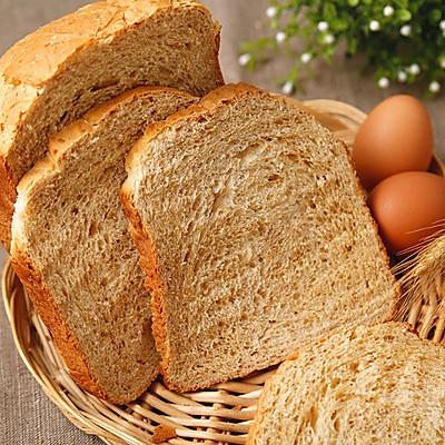 全麦面包的做法(面包机一键式全麦面包)