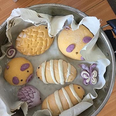 紫薯南瓜馒头的百变之旅