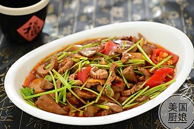美味下饭菜-肝腰合炒