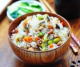 电饭锅菜饭的做法