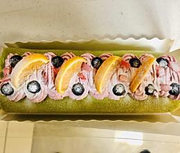 #餐桌上的春日限定#知否知否?应是绿肥红厚—菠菜甜菜奶卷的做法
