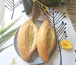 蒜香面包的做法