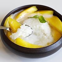 芒果椰汁糯米饭的做法图解10
