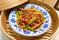 牛排中式吃法:海鲜菇炒牛柳的做法