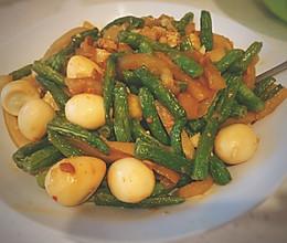 美味简单的蛋烧茄子豆角的做法