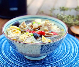 菌菇鸡汤的做法