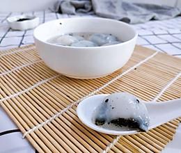 #憋在家里吃什么#Q弹黑芝麻汤圆的做法