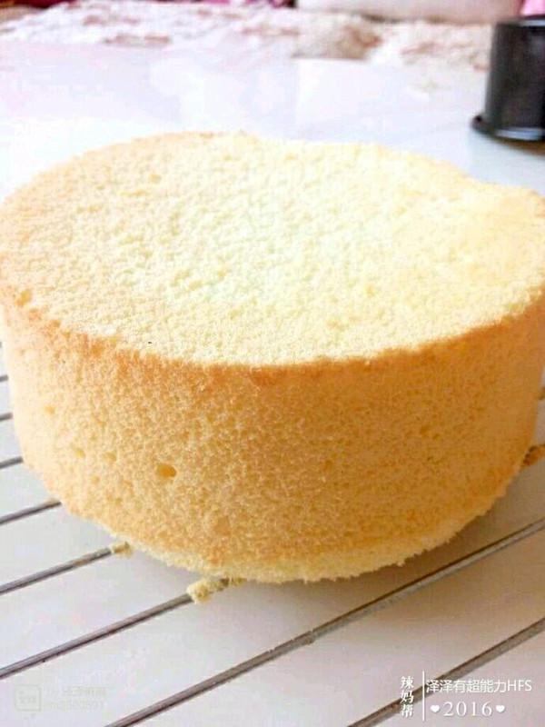 六寸蛋糕胚的做法