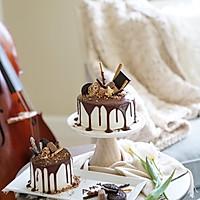 巧克力淋面蛋糕-祝自己生日快乐的做法图解30