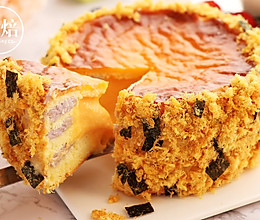 爆款咸蛋黄金沙芋泥蛋糕的做法