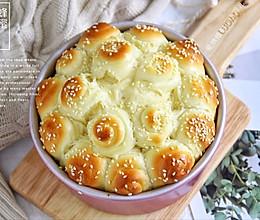 焦脆松软做法简单❗️烘焙小白也能做的蜂蜜脆底面包的做法