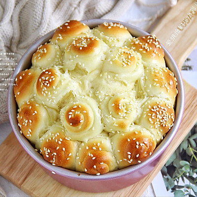 焦脆松软做法简单❗️烘焙小白也能做的蜂蜜脆底面包