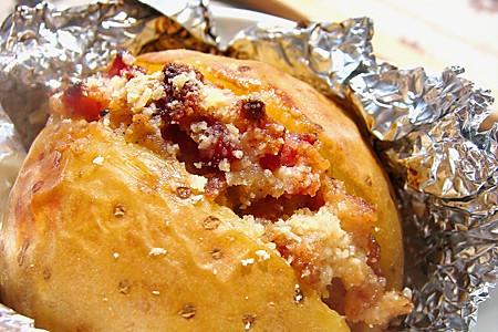 培根烤土豆的做法