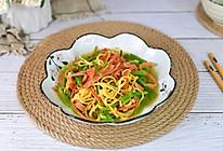 #我们约饭吧#干丝香肠炒芹菜的做法