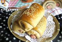 酸奶黑麦香肠面包的做法