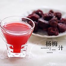杨梅汁&杨梅果干