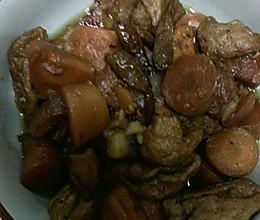 红烧肉之油豆腐和红萝卜的做法