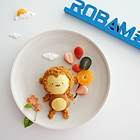 猴开心蜂蜜小蛋糕#不思烤就很好#老板电器烤箱R026试用