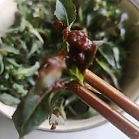 舌尖上的春天2~曲麻菜蘸酱的做法图解4