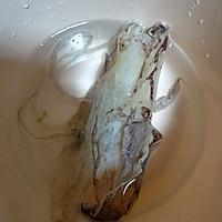 #父亲节,给老爸做道菜#鱿鱼上汤丝瓜的做法图解1