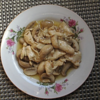 上海年夜饭必备蘑菇鸡片的做法图解9