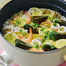 什锦海鲜饭 #父亲节,给老爸做道菜#