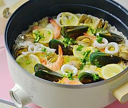 什锦海鲜饭 #父亲节,给老爸做道菜#的做法