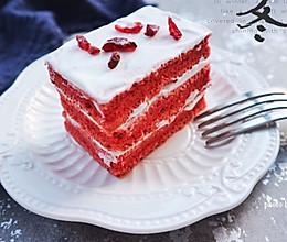 红丝绒蛋糕#我的莓好食光#的做法
