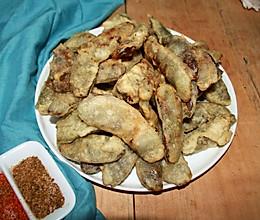 炸扁豆鱼儿的做法