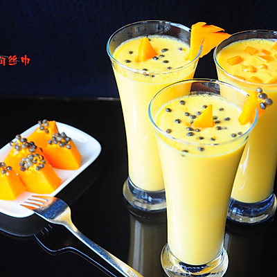 木瓜玉米汁