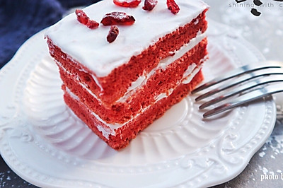 红丝绒蛋糕#我的莓好食光#
